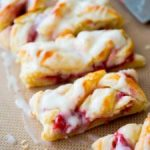 iced raspberry danish braid recipe