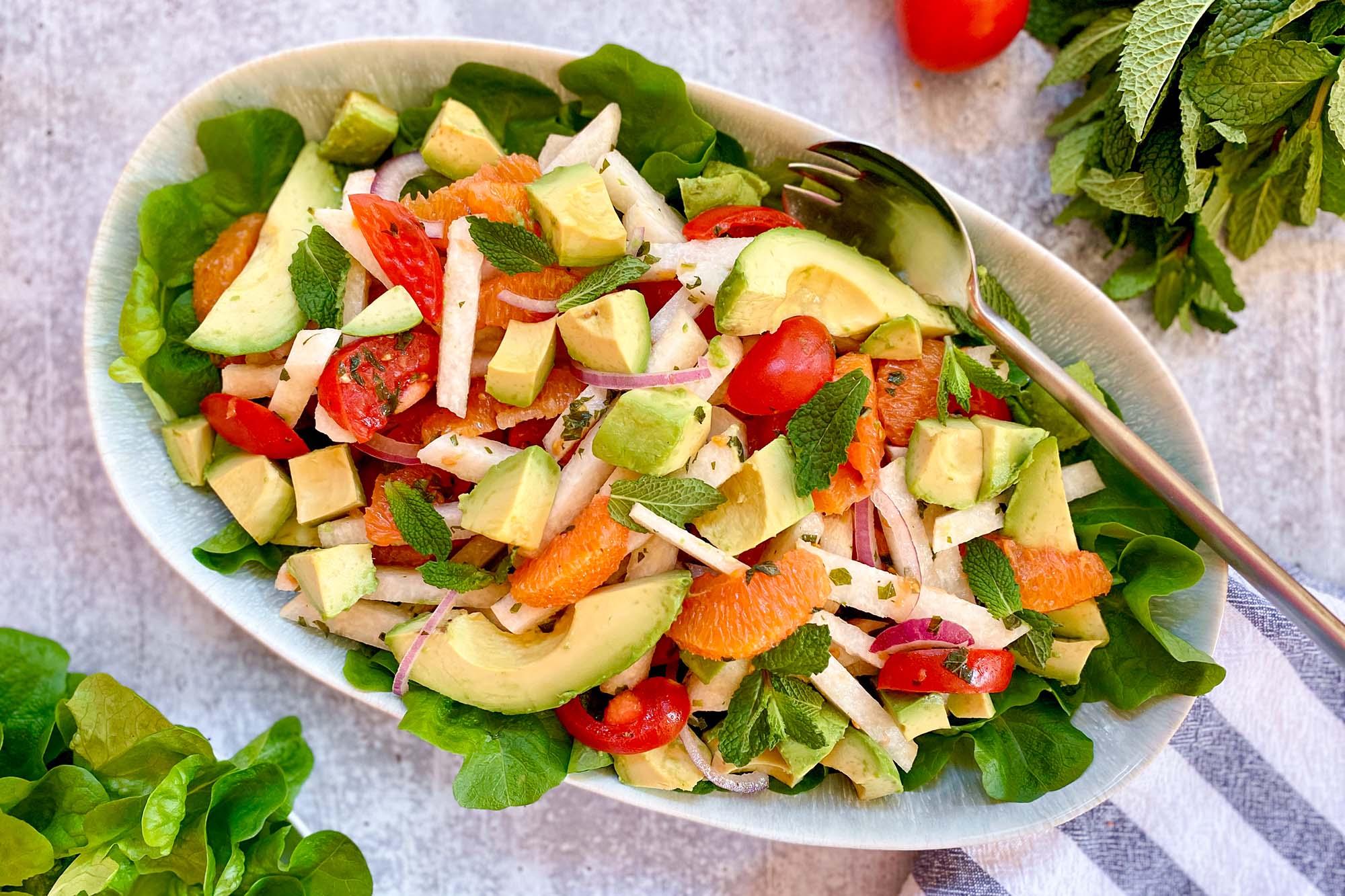 Jicama, Avocado, and Orange Salad Recipe