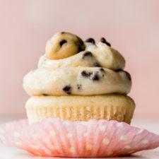 Molten Cookie Dough Cupcakes Recipe