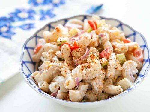 mom's easy macaroni salad recipe