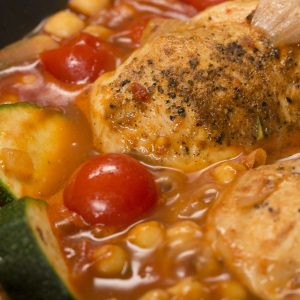 One-pan Moroccan Chicken Recipe