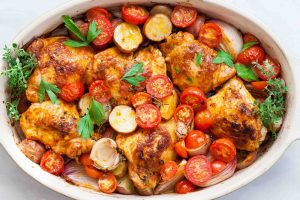 One-Pan Paprika Chicken and Potatoes Recipe