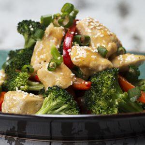Orange Chicken & Veggie Stir-fry Recipe