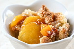 Peach Filling With Cobbler Toppings Recipe