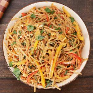 Peanut Noodle Pasta Salad Recipe