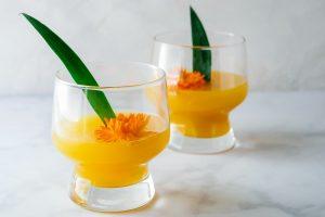 Pineapple-Mango Mimosa Recipe