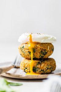 Quinoa and Spinach Patties Recipe