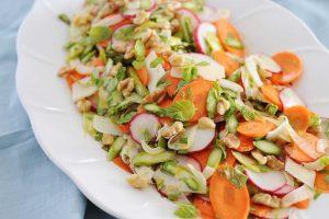 Shaved Spring Vegetable Salad Recipe