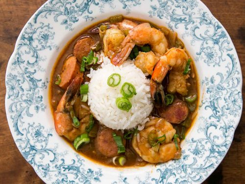 shrimp gumbo with andouille sausage recipe