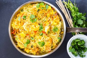 Singapore Noodles with Shrimp Recipe