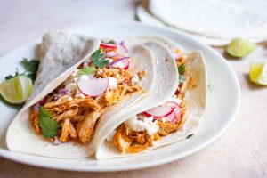 Slow Cooker Honey Chipotle Chicken Tacos Recipe