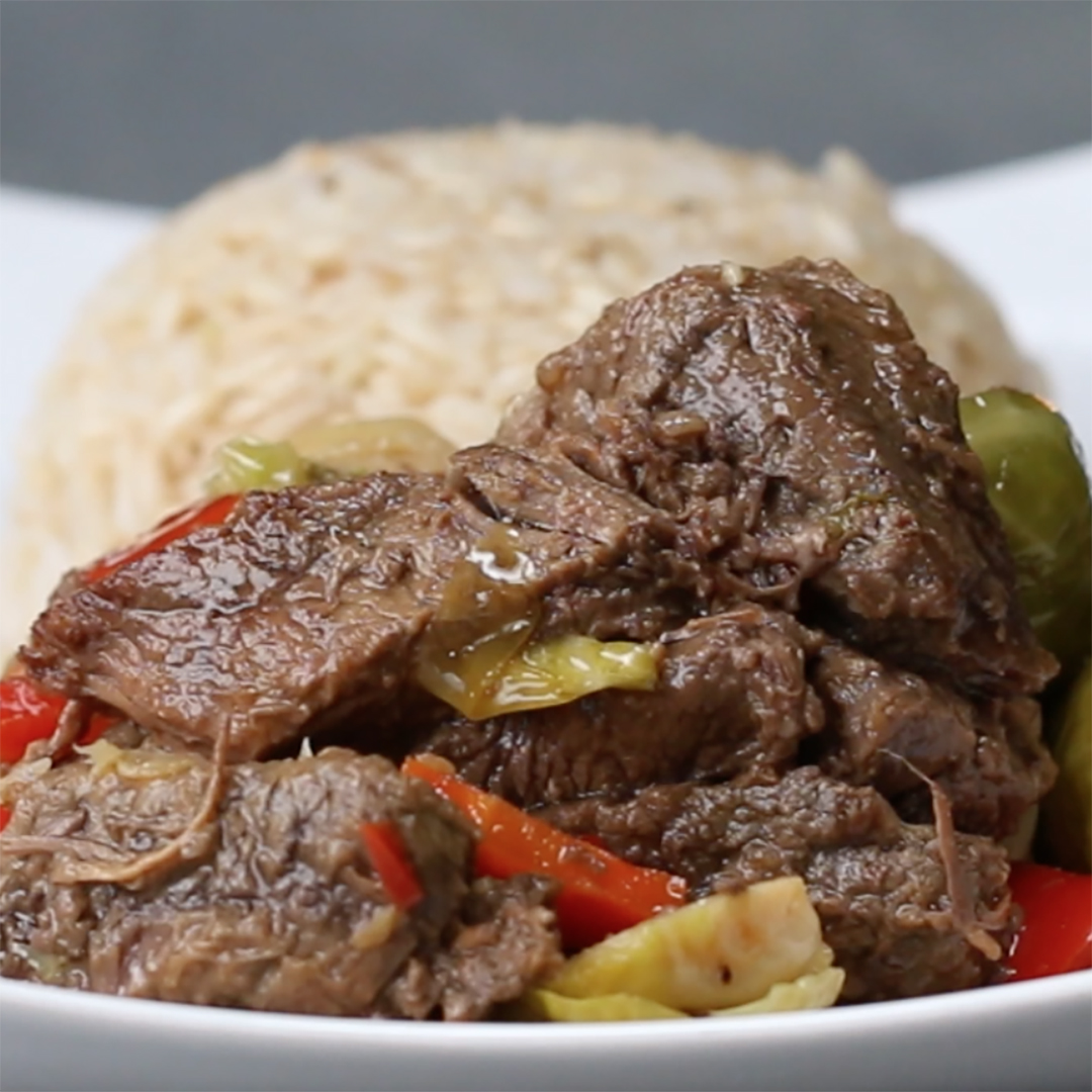 Slow Cooker Steak and Veggies Recipe