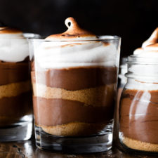 S'mores Chocolate Mousse Recipe