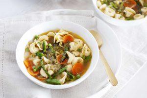 Spring Vegetable Tortellini Soup Recipe
