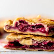 Strawberry Blackberry Slab Pie Recipe