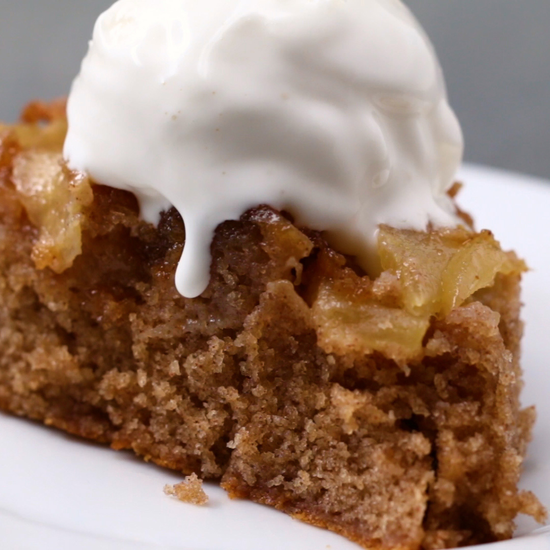 Upside-Down Apple Cake Recipe
