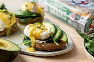 Vegetarian Eggs Benedict Recipe