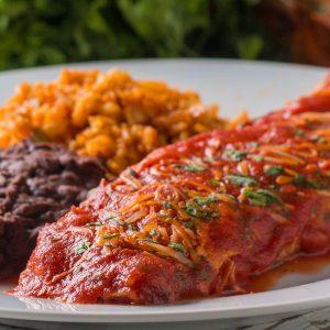 Veggie-Packed Chicken Enchiladas Recipe