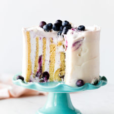 Vertical Cake (Lemon & Blueberry) Recipe