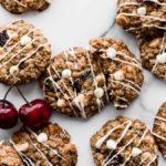 white chocolate chip cherry oatmeal cookies recipe