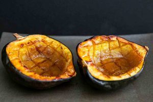 Baked Acorn Squash with Butter and Brown Sugar Recipe