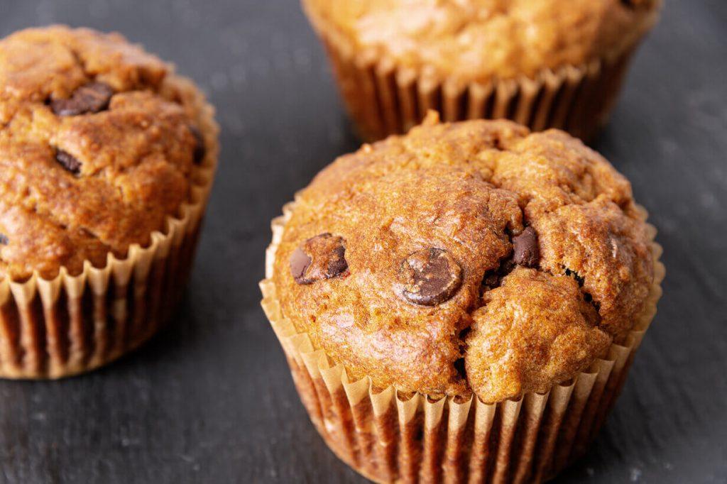 gluten-free-banana-chocolate-chip-muffins-Recipe