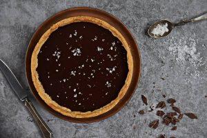 Salted Dark Chocolate Tart Recipe