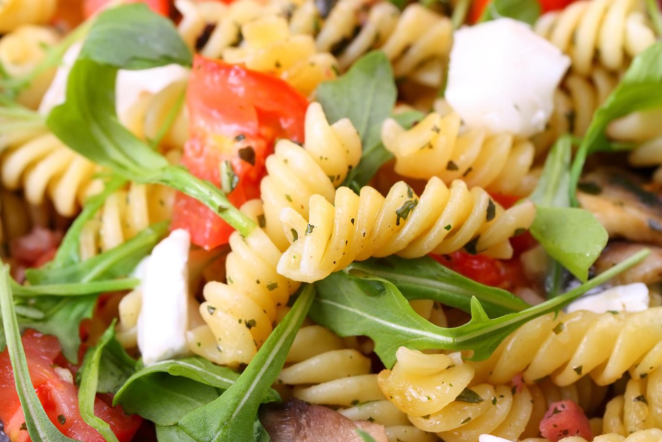 Arugula and Goat Cheese Pasta Salad Recipe