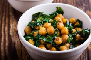 Catalan Chickpeas and Spinach Recipe