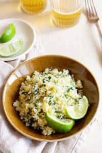 Cilantro Lime Cauliflower Rice Recipe