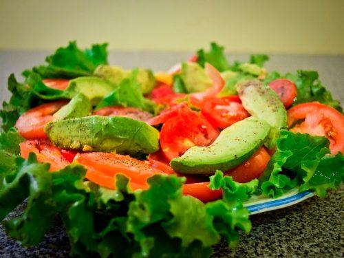 healthy citrus avocado salad
