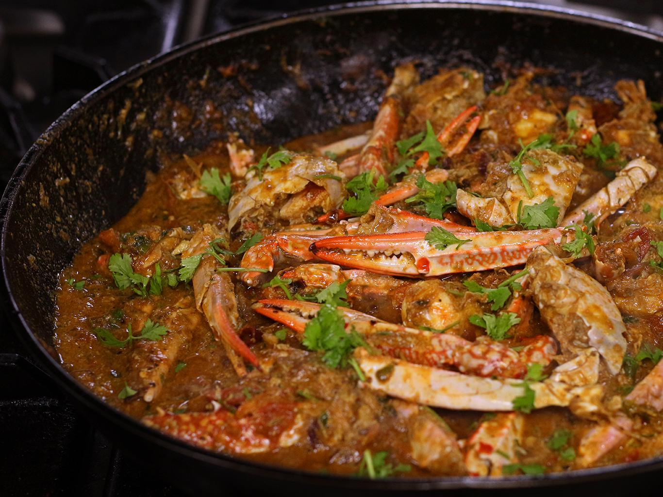 Crab Masala Curry Recipe