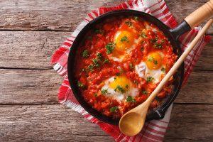 Eggs In Tomato Sauce (Shakshuka) Recipe