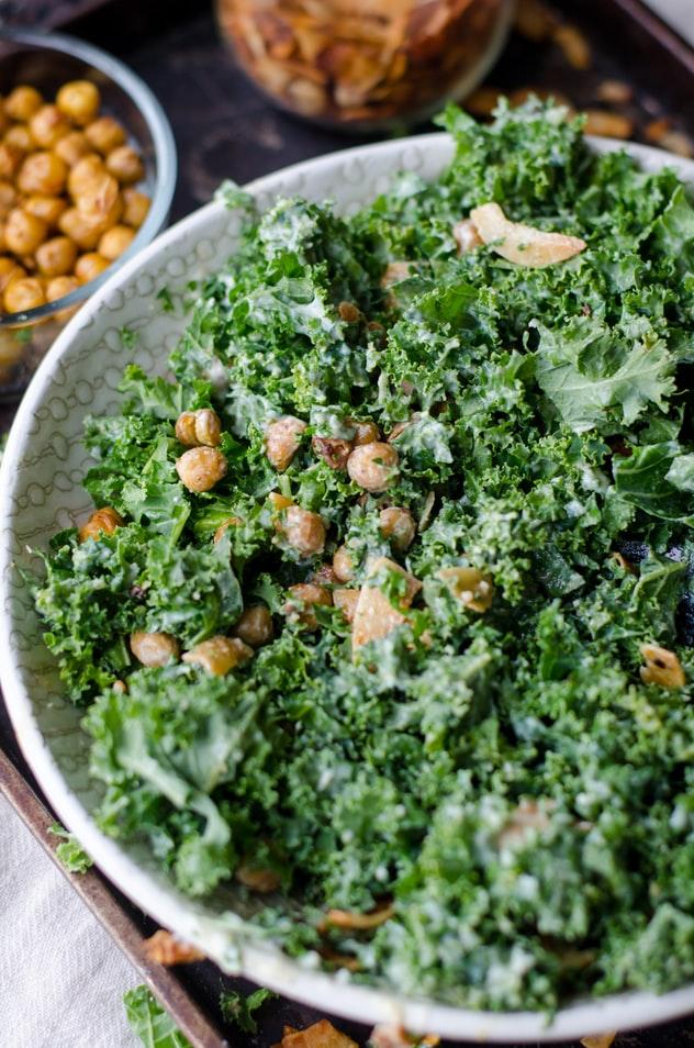 Simple Kale Salad Recipe