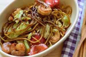 Singapore Zoodle Stir Fry With Chicken Recipe
