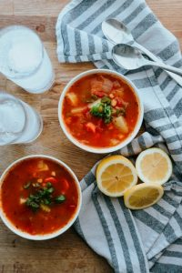Spicy Vegetarian Cabbage Soup Recipe