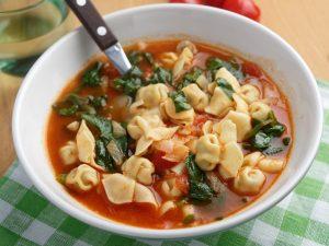 tuscan tortellini vegetable soup