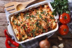 Ancho Chicken Enchiladas Recipe
