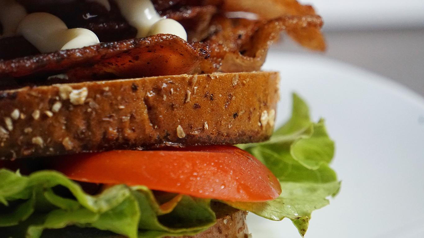 Bacon, Lettuce, and Tomato (BLT) Sandwich Recipe