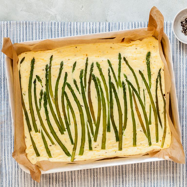 Baked Asparagus Frittata Recipe