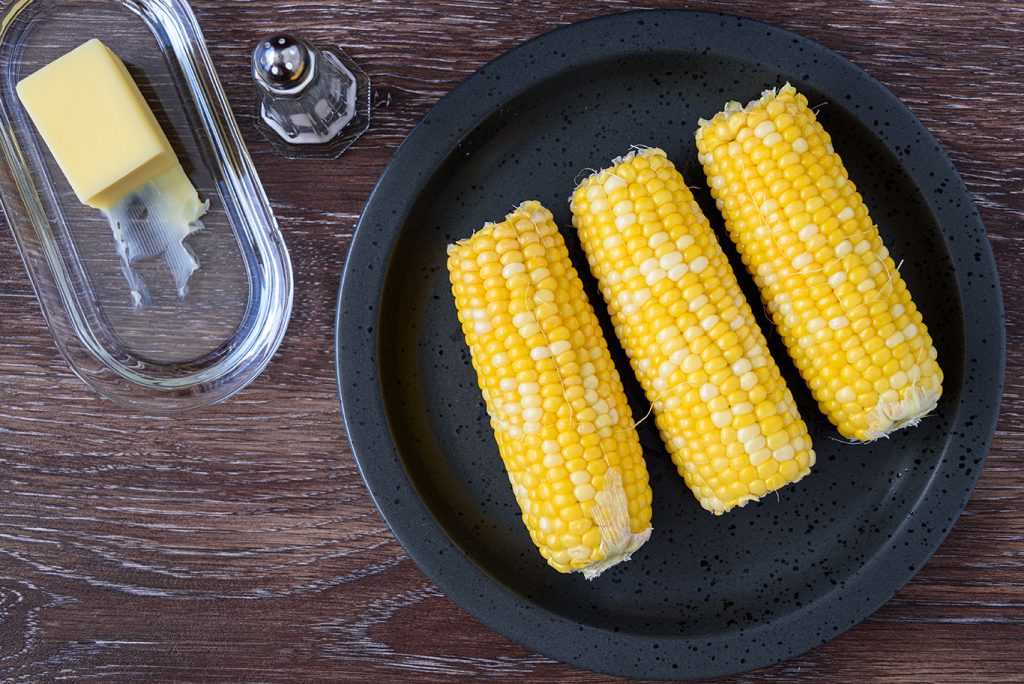 bake corn on the cob