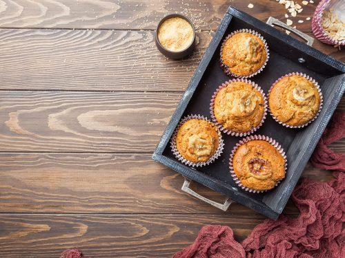 tasty banana bread muffins