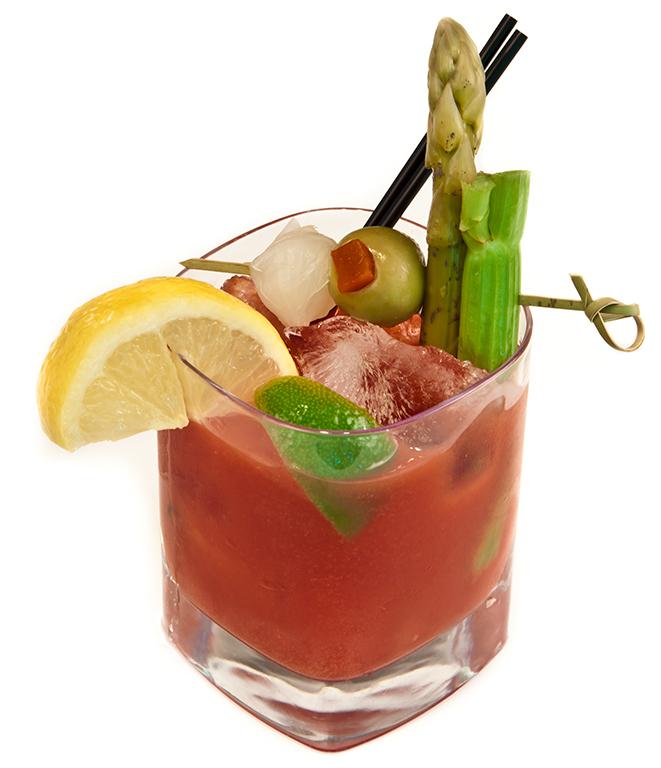 Spiced Caesar Drink Recipe
