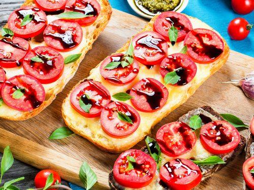 tasty garlic bread