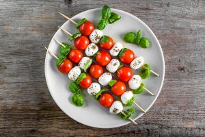 Chicken Caprese Skewers Recipe