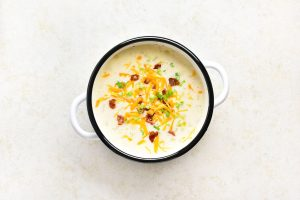 Cheesy Bacon Baked Potato Soup Recipe