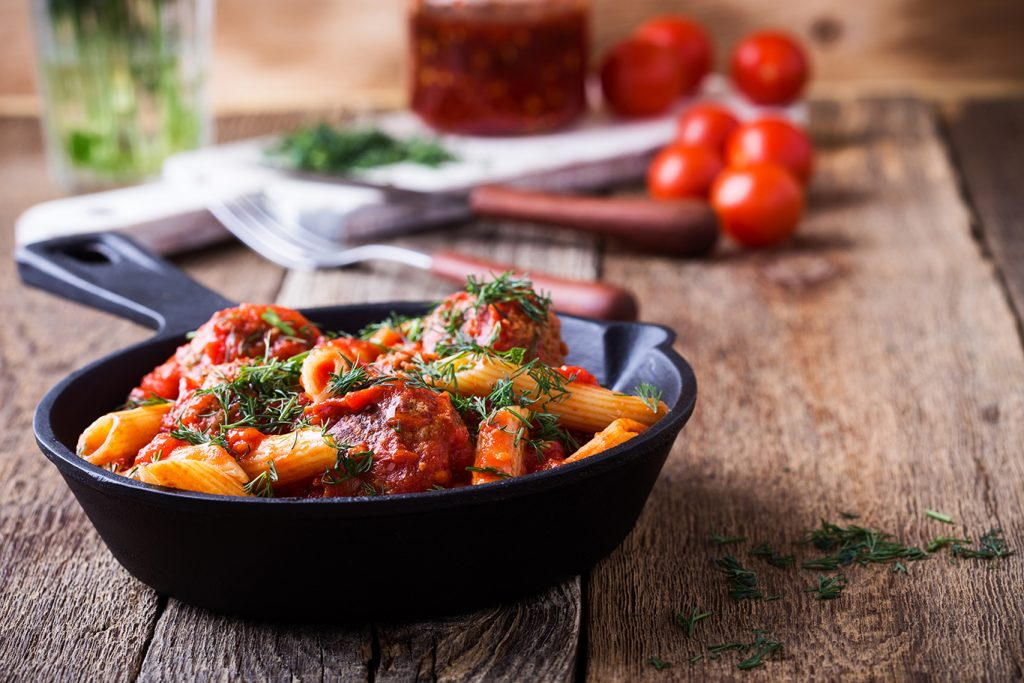 cheesy baked penne