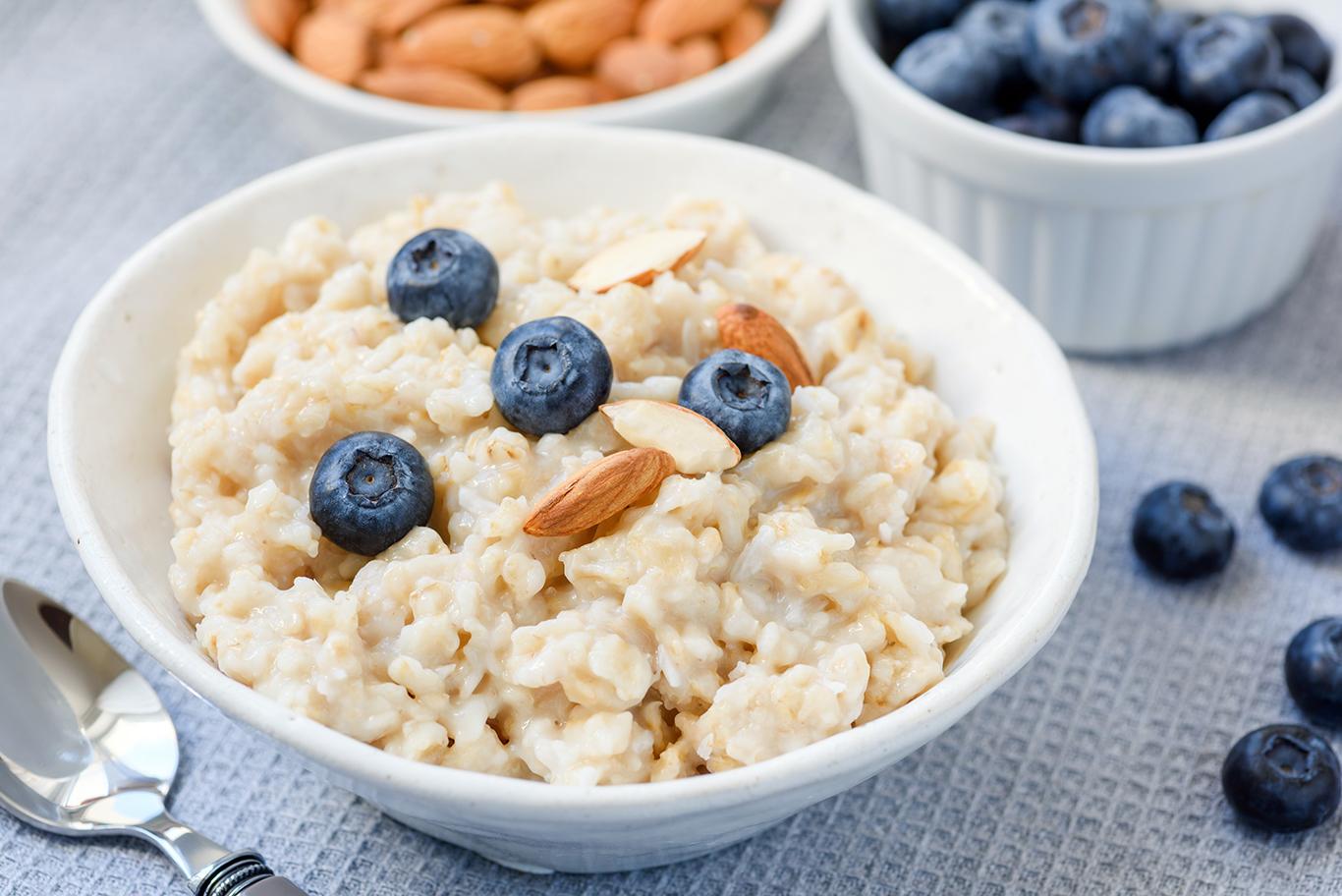 Coconut Blueberry Oatmeal Recipe