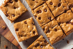 Coffee Chocolate Chip Blondies Recipe