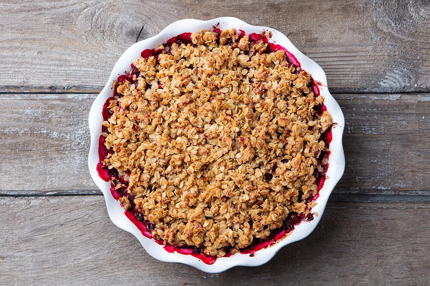 Cranberry Crisp Recipe